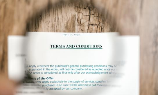 Huurcontract conform wettelijke vereisten